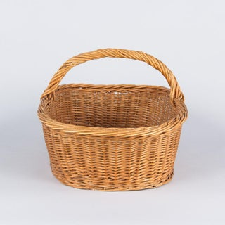 French Wicker Basket From Auvergne Region Preview