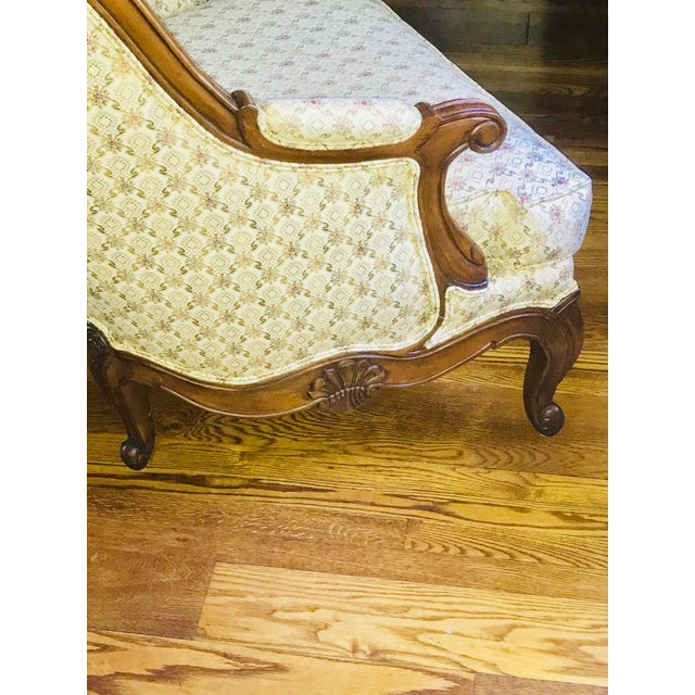 Louis XV Lillian August for Drexel Oversized Bergere Chair For Sale - Image 3 of 10