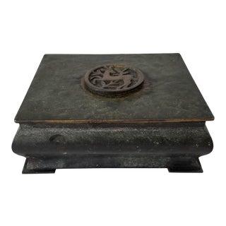 Mid-Century Denmark Bronze Box . For Sale