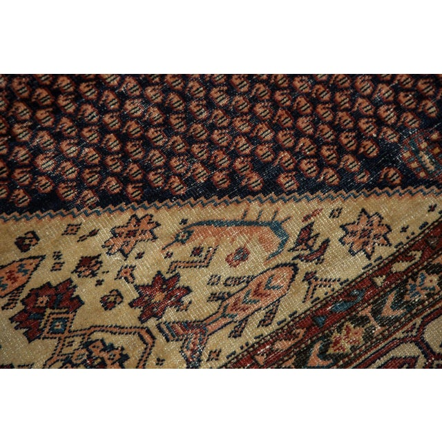 "Textile Vintage Mission Malayer Square Rug - 5'5"" x 6'7"" For Sale - Image 7 of 10"