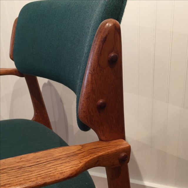 Danish Modern Erik Buch Chairs - Set of Two - Image 11 of 11