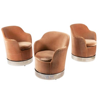 Three Phillip Enfield Swivel Chairs For Sale