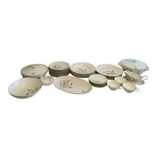 Hutschenreuther Porcelain Dishes, 34 Pieces For Sale