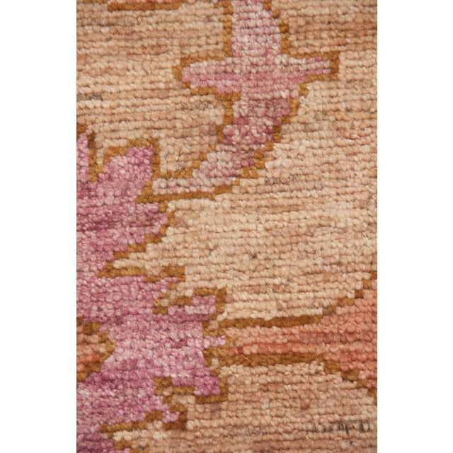 "Traditional Oushak Hand Knotted Area Rug - 9'5"" X 12'2"" For Sale - Image 3 of 3"