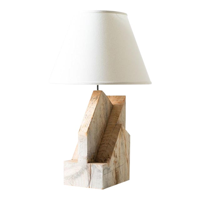 Timber Frame Lamp For Sale