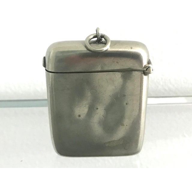 Late 19th Century Victorian Match Safe For Sale - Image 4 of 6