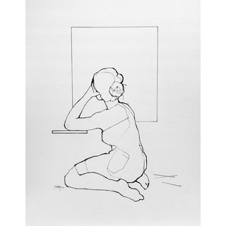 Blank Canvas Contemporary Drawing For Sale