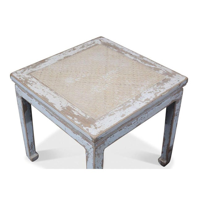 Sarreid Ltd Square Rattan Stool - Image 6 of 6