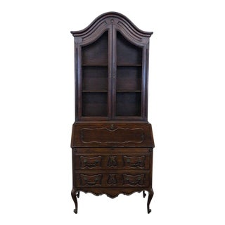 Early 20th Century Antique Italian Secretary Desk For Sale
