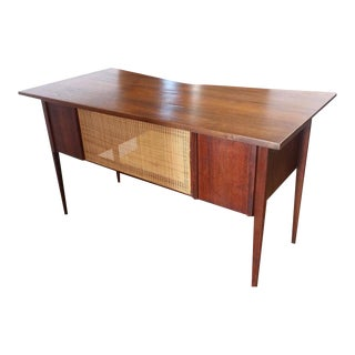 Edward Wormley for Dunbar Mid-Century Walnut Desk