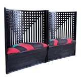 Image of Charles Rennie Mackintosh Willow Chairs - a Pair For Sale