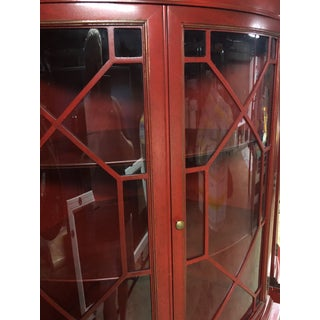 1947 Drexel Heritage Mahogany Bowed Corner Cabinets - a Pair Preview