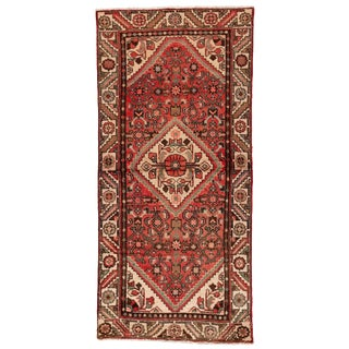 """Antique Persian Rug, 3'1"""" X 6'9"""" For Sale"""
