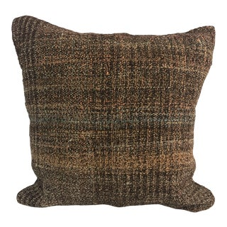 Turkish Decorative Handmade Aztec Kilim Pillow Cover For Sale