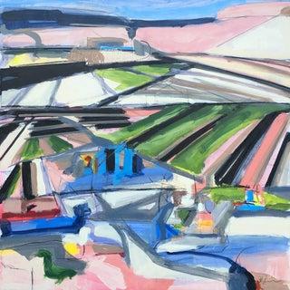 Little York Road II - Diptych by Heidi Lanino For Sale