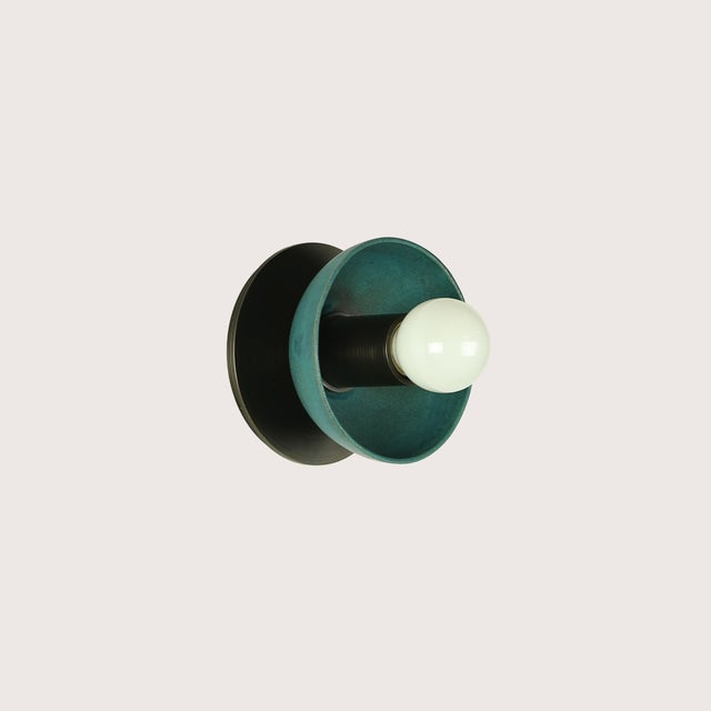Contemporary Emmet Sconce Small by Pax Lighting For Sale - Image 3 of 7