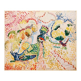 """1947 Henri Matisse """"The Olives"""", First Edition Period Parisian Lithograph For Sale"""