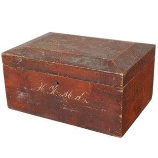 English Utility Box For Sale