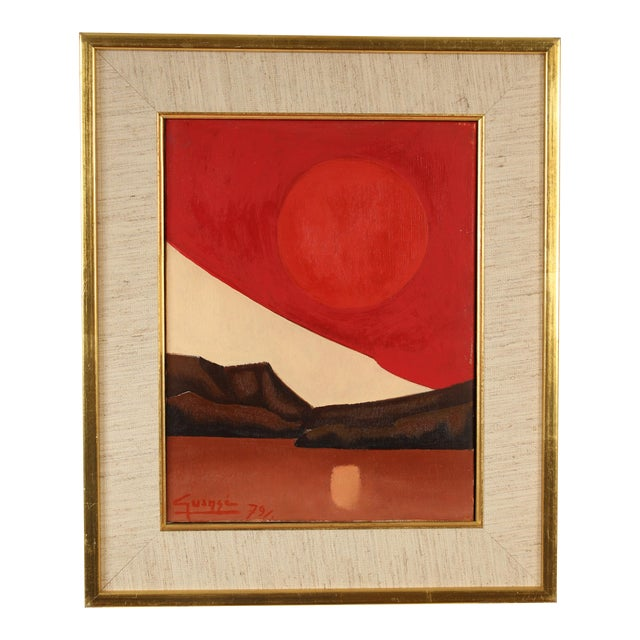 Abstract Painting by Antonio Guanse For Sale