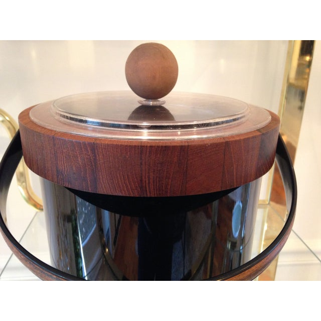 Authentic Ernest Sohn Teak Ice Bucket - Image 6 of 6