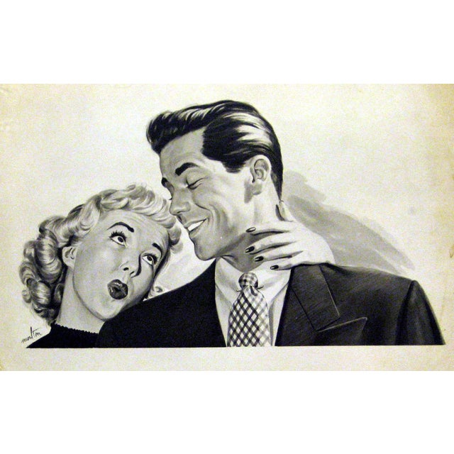 1950's Illustration Giclee Print on Archival Paper - Image 1 of 2