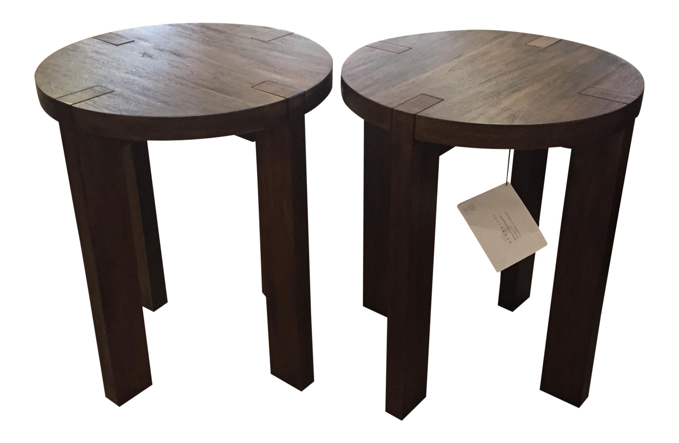Bernhardt Furniture Side Tables   A Pair
