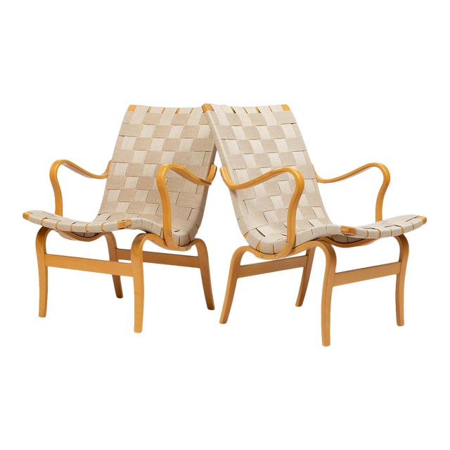 Bruno Mathsson Eva Chairs For Sale