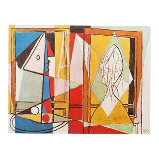 1971 Picasso Deux Femmes a La Fenetre Photogravure