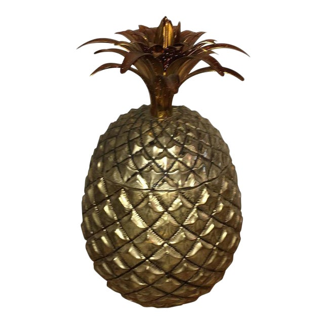 Mid Century Modern Italian Mauro Manetti Pineapple Ice Bucket - Image 1 of 6