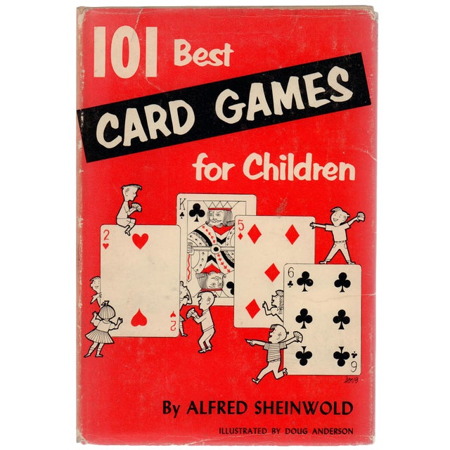 101 Best Card Games for Children For Sale