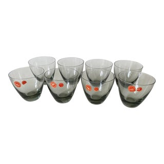 Medium Holmegaard Per Lutken Elsinore Cocktail Tumblers - Set of 8 For Sale