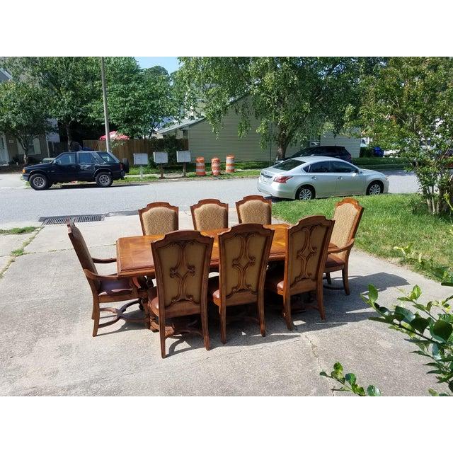 Stanley Grande Balustrade Pedestal Dining Room Chairs