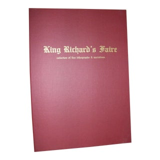 King Richard's Faire, Brad Bennett Lithographs and Narratives