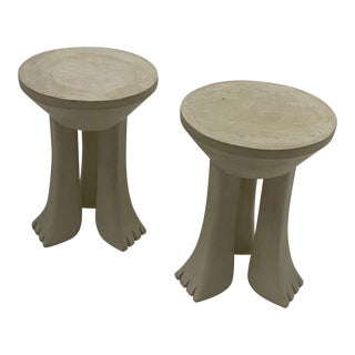 John Dickinson Style Accent Tables -Pair For Sale
