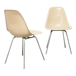 Pair of Eames for Herman Miller Shell Chairs For Sale