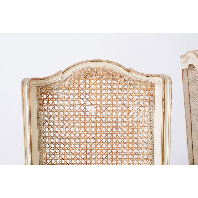 Pair of French Provincial Five-Leg Slipper Chairs For Sale - Image 10 of 13