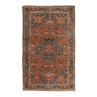 Antique Persian Sarouk Rug For Sale