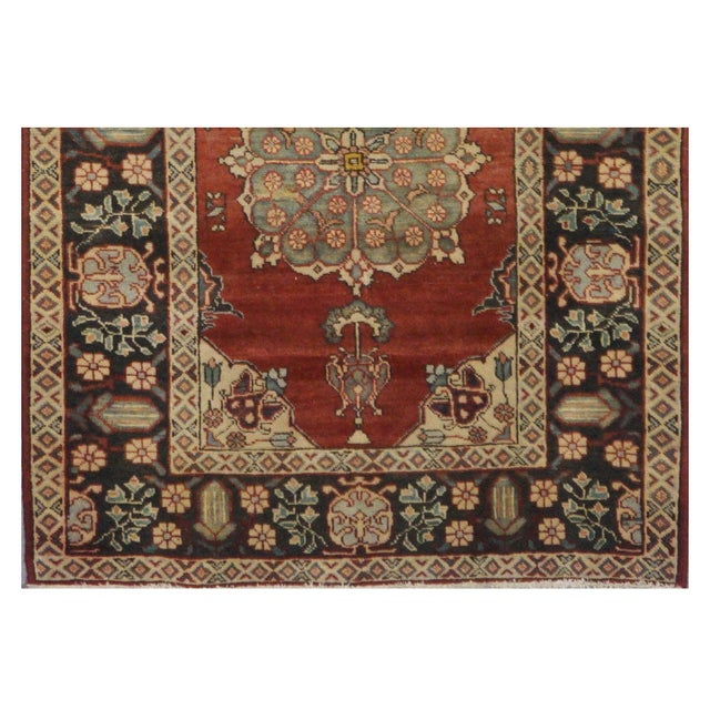 Islamic Vintage Persian Khalkhal Rug - 3′8″ × 10′3″ For Sale - Image 3 of 4