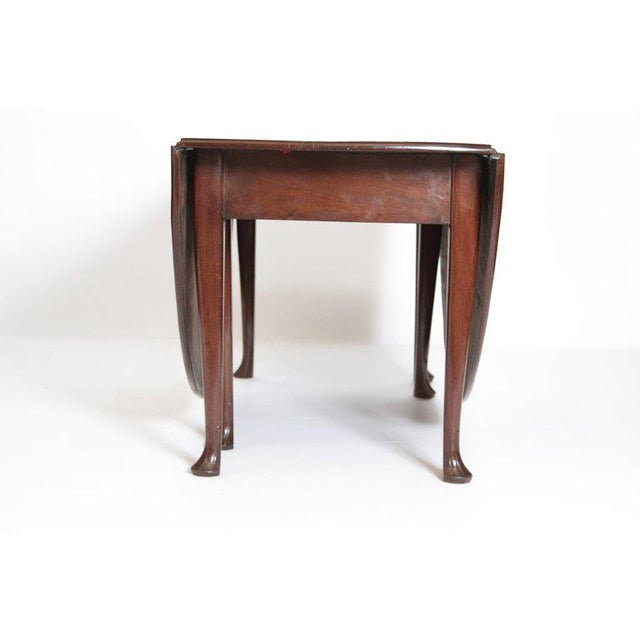 George II Mahogany Dining Table With Spanish Feet For Sale In Dallas - Image 6 of 13
