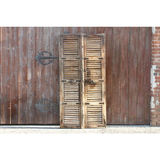 Antique 19th Century Hungarian Doors For Sale - Image 9 of 9