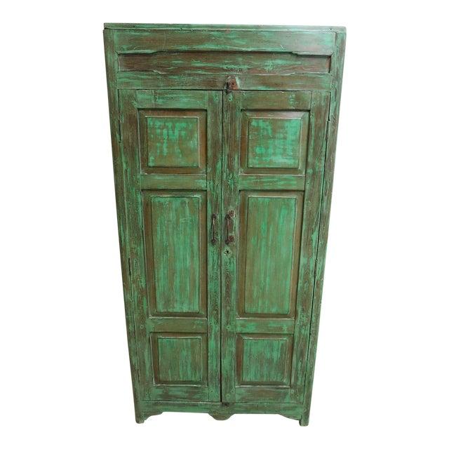 Antique Primitive Wardrobe Cupboard - Image 1 of 6