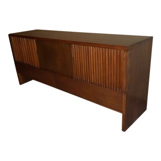 Mid-Century Modern Harold Schwartz Romweber Solid Oak Sideboard / Cabinet For Sale