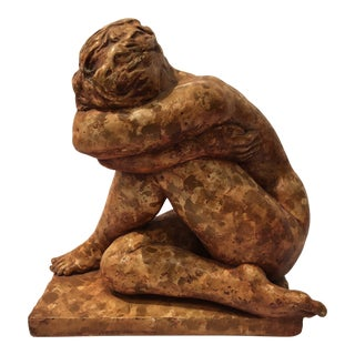 1990s Sculpture of Female Nude For Sale