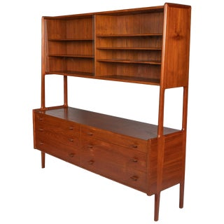 Hans Wegner for R. Mobler Teak Sideboard For Sale