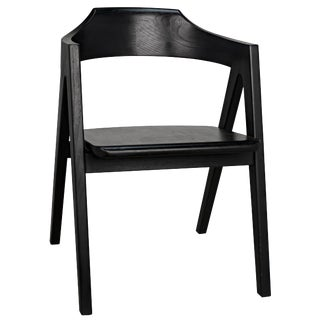 Anan Chair, Charcoal Black For Sale