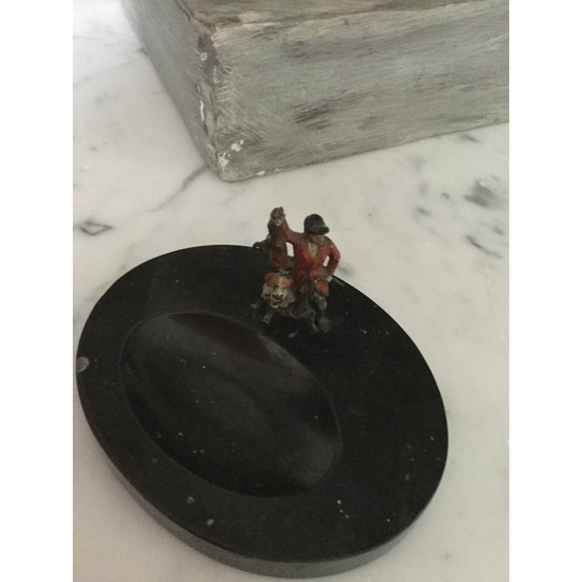 This is a vintage cold painter Austrian bronze figure on a granite base. It was made in France in the 1920s-1930s. The...