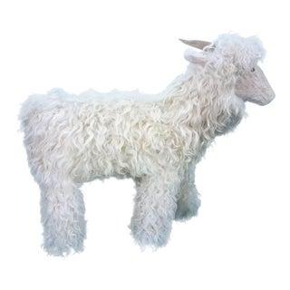 Lalanne Style White Tibetan Lamb Sheep