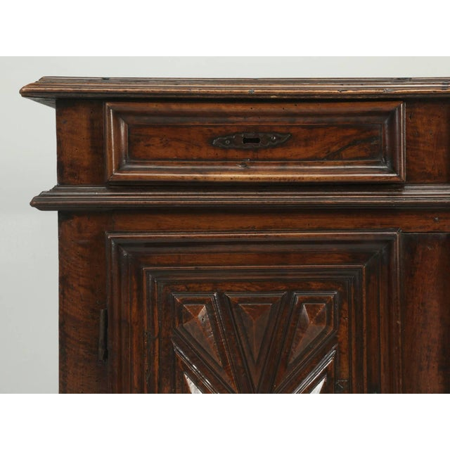 Mid 18th Century Antique French Louis XIII Style Buffet From the Mid-1700s For Sale - Image 5 of 10