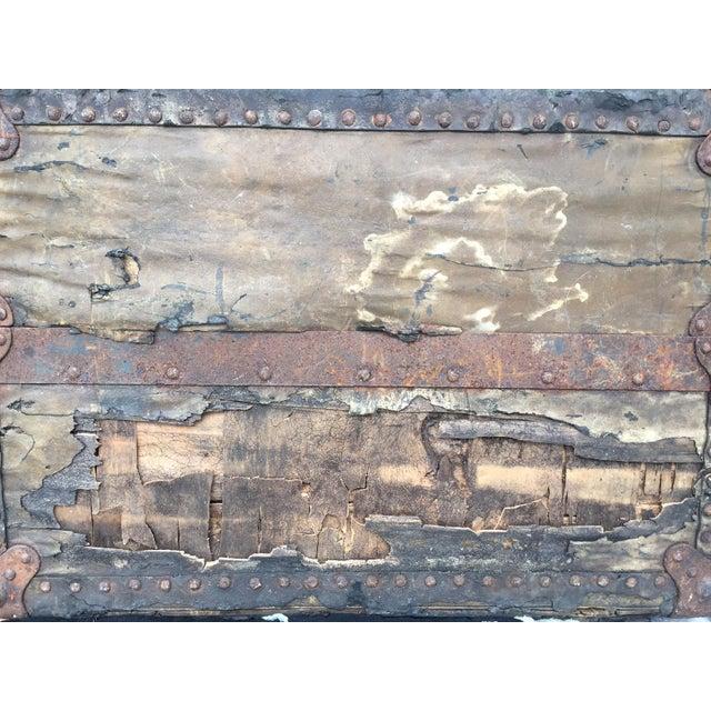 Antique Wardrobe Steamer Trunk - Selfridges of London - Image 9 of 9