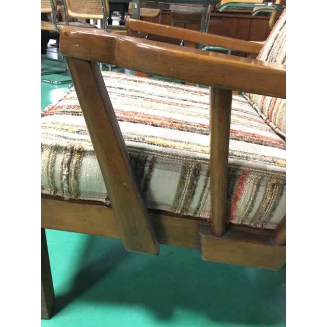 Mid-Century Solid Cherry Side Chair For Sale - Image 4 of 6